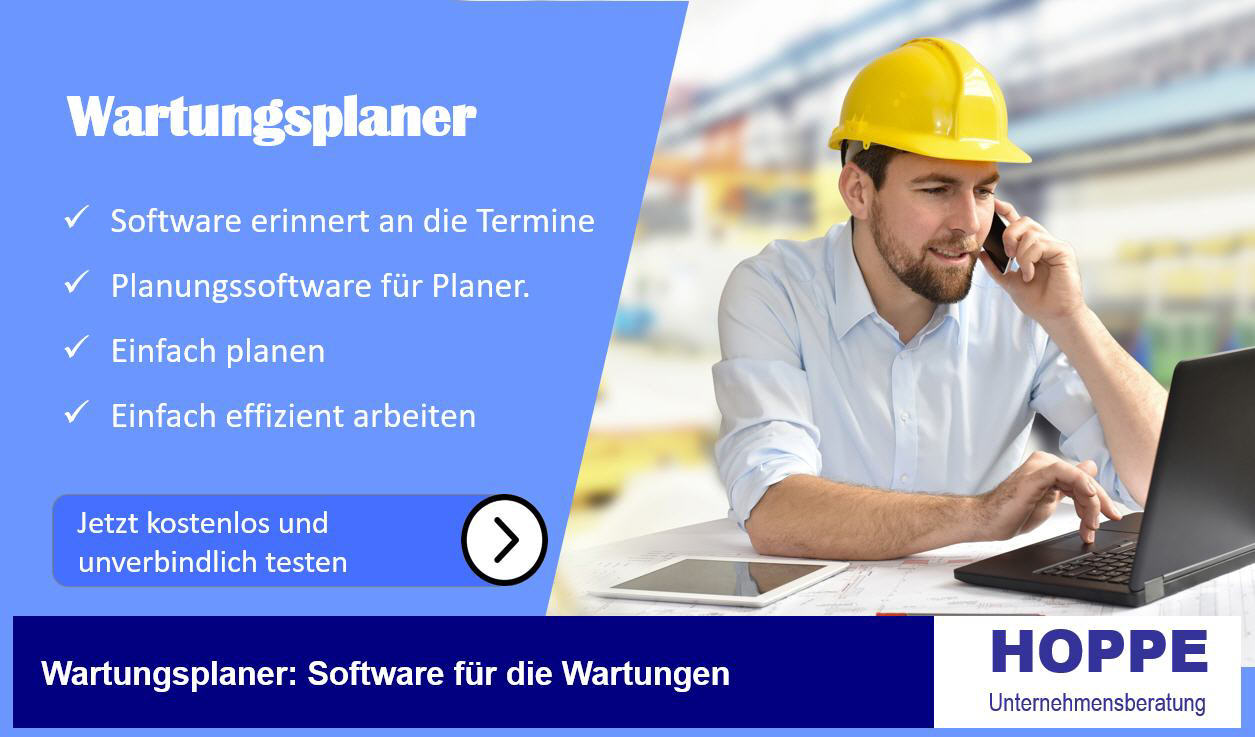 Facility Management und CAFM Software Facility Management Software Software zur Wartung So setzen Sie die facility management software richtig ein Hoppe Instandhaltungssoftware